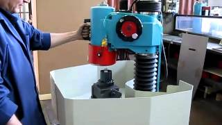 DELTA: Demonstration of tool sharpener LB300 at work