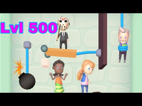 Rescue Cut game level 500 | Special Characters gameplay