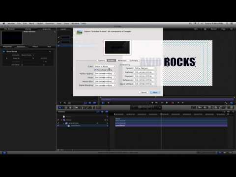 Learn Media Composer Lesson 31: Motion Graphics for Motion 5