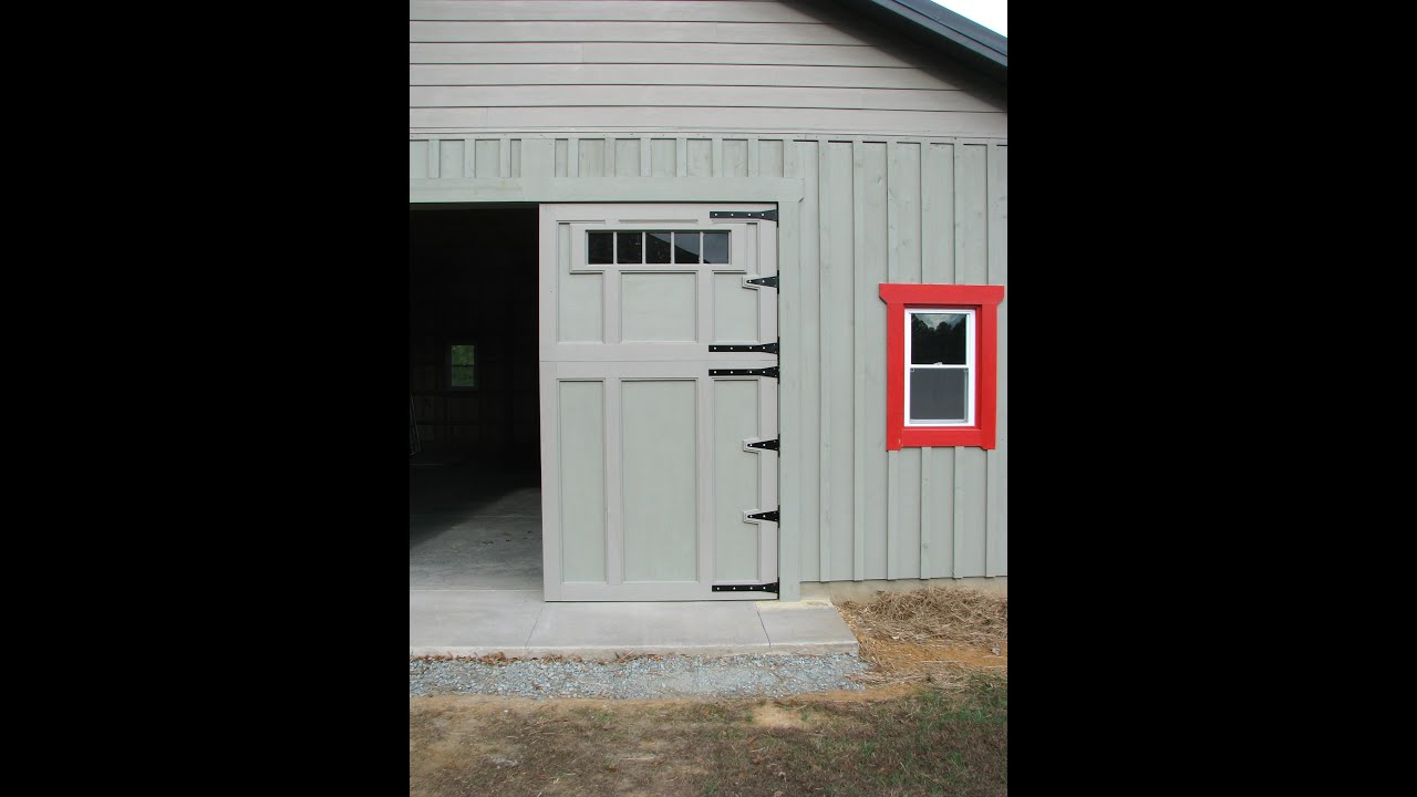 Swing Out Garage Doors