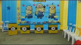 Fiestas Infantiles Decoracion Minions Travesuras Kids
