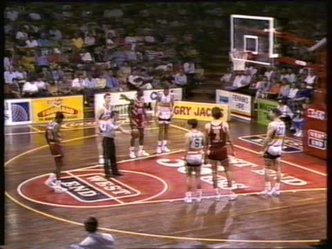 1991 NBL Adelaide 36'ers vs Perth Wildcats Semi Final Game 1 (last qtr only)