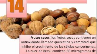 25 alimentos anticancerígenos