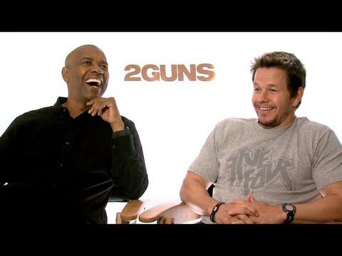 2 GUNS Interviews: Denzel Washington, Mark Wahlberg, Paula Patton and Bill Paxton