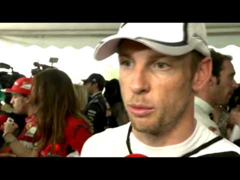 F1 2014 Malaysia - Post Qualifying - Jenson Button - 10th Place