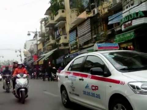 Hanoi - Hang Gai street.