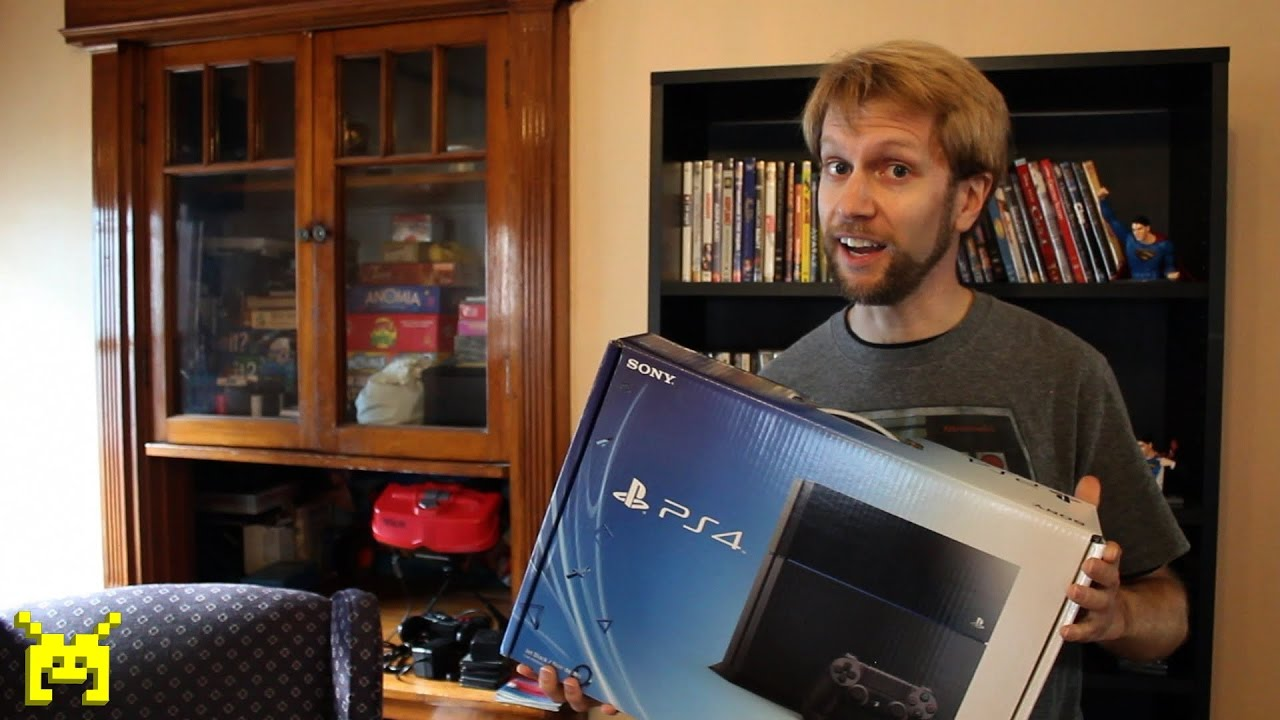 Sony PlayStation 4 (PS4) unboxing, setup & system config video - YouTube