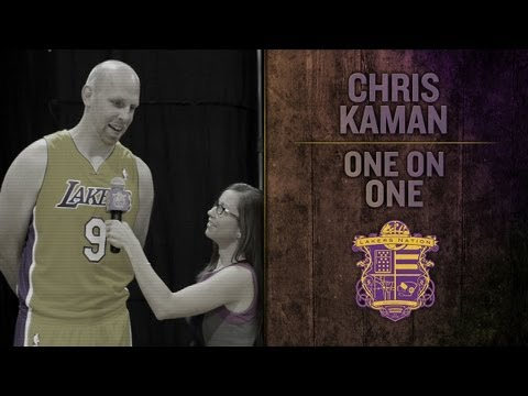 Lakers Interview: Lakers Center Chris Kaman Talks Clippers, Mark Cuban and Hunting