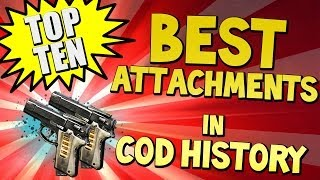 "Top 10 ""BEST ATTACHMENTS"" in COD HISTORY  (Top Ten - Top 10) Call of Duty"