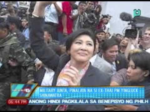News@6: Military Junta, pinalaya na si ex-Thai PM Yingluck Shinawatra