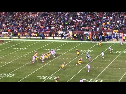 Redskins vs Giants (12/1/2013)