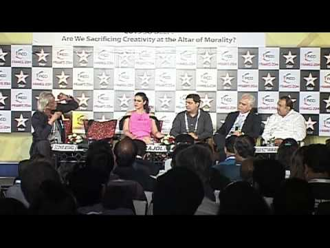 Kajol At FICCI Frames 1 Part 1