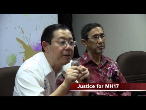 Lim Guan Eng: Justice for the victims MH17