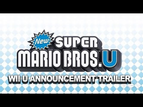 Wii U: New Super Mario Bros. U Announcement Trailer - Nintendo NYC Conference 2012