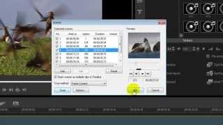 Corel VideoStudio ตอน การแบ่งคลิปวิดีโออัตโนมัติ (Split by Scene)