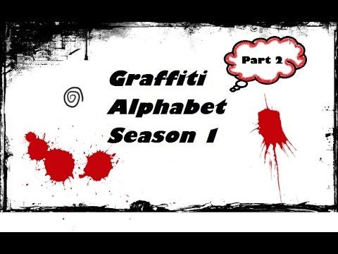 KAKO CRTATI GRAFITE ( HOW TO DRAW GRAFFITI ) Part 2 / 5