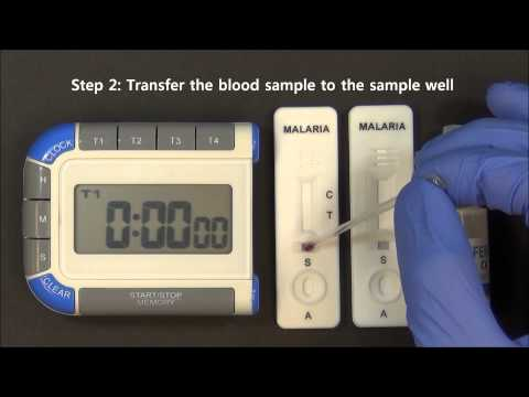 CareStart Malaria Testing Kit