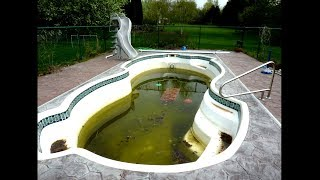 i haven't cleaned my pool in 30 years...