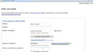 Como Se Hace Una Cuenta De Gmail