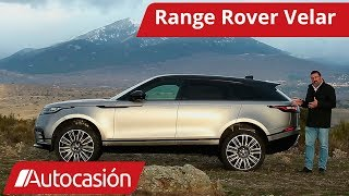 Range Rover Velar 2018   Prueba / Test / Review en español   Autocasión