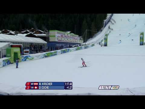 Alpine Skiing Men Giant Slalom Complete Event Run 1 | Vancouver 2010