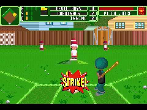 backyard baseball 2006 gba season game 2 youtube
