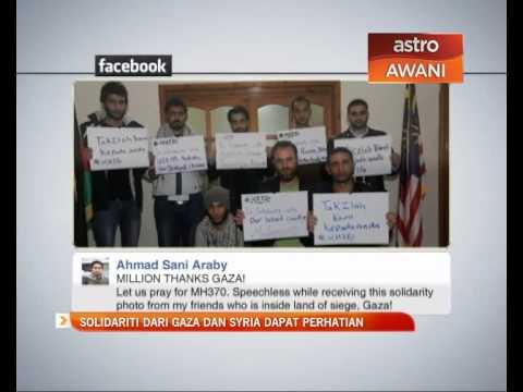 Solidariti dari Gaza dan Syria dapat perhatian