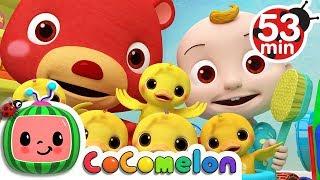 The Duck Hide and Seek Song | + More Nursery Rhymes & Kids Songs - ABCkidTV