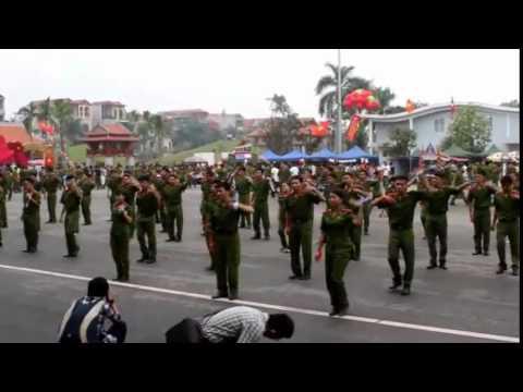 Dân vũ Học viện Cảnh sát nhân dân