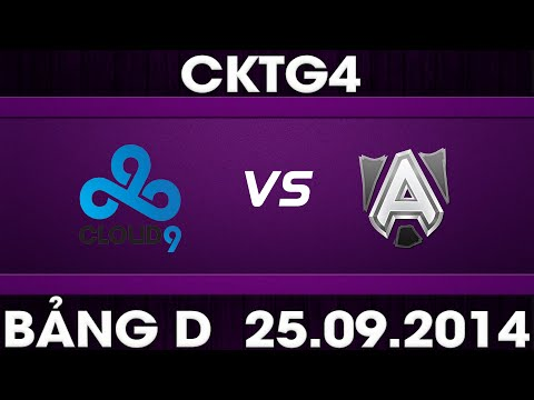 [25.09.2014] C9 vs ALL [CKTG2014 - Bảng D]