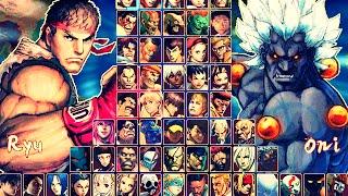 Hyper Street Fighter IV M.U.G.E.N Hi-Res (GAME COMPLETO