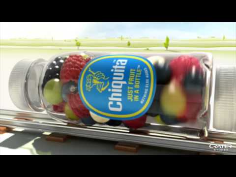 DB Bahn+Chiquita Smoothies Commercial by Crater Studio