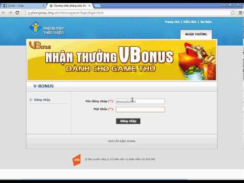 Hướng dẫn tự kích hoạt Vbonus