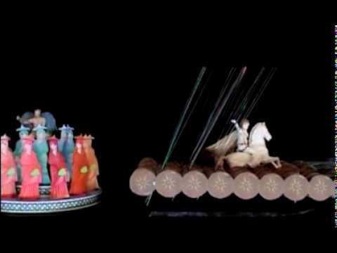 Papaioannou - 2004 Olympics Opening - Clepsydra Model