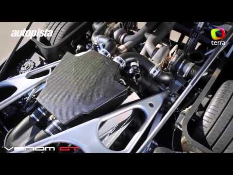 Hennessey Venom GT, el coche más rápido del mundo