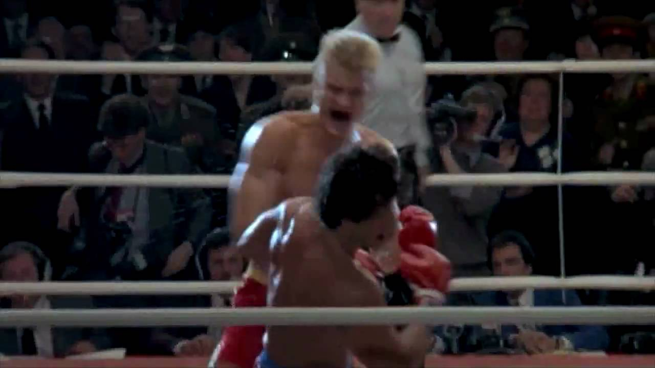 "DRAGO Vs ROCKY - (1st half...""I See 3 of Him"") fight scene ..."