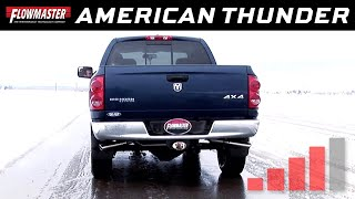 2003-2008 Dodge Ram 2500/3500 5.7L Cat-Back Exhaust System