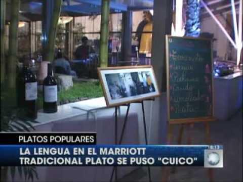 Elegante muestra de Gastronomía Chilena, del Hoyo al Marriot.- Cocina Zona Central de Chile.