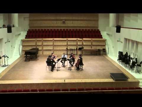 Guillermo Lago – Consecuencias for alto sax and string quartet (2015)