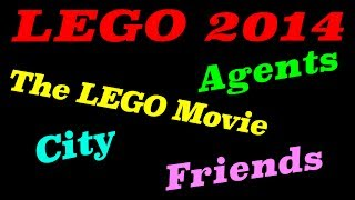 2014 LEGO Agents, City, Friends, & The LEGO Movie Set