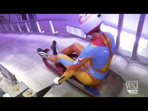 Winter Olympics Training: Luge