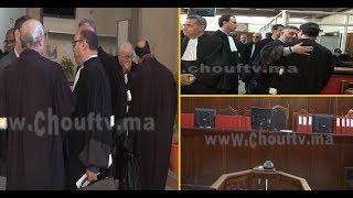فيديو حصري من قلب محكمة الاستئناف بالدارالبيضاء..الزفزافي يمثل في هذه اللحظات داخل القفص الزجاجي    |   بــووز