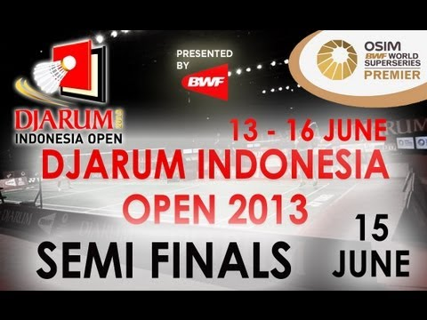 SF - WS - Juliane Schenk vs Saina Nehwal - 2013 Djarum Indonesia Open