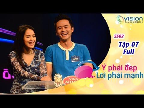 Ý Phái Đẹp Lời Phái Mạnh | HTV | Tập 7 | Văn Anh - Tú Vi | Quang Huy - Thanh Phượng | S2