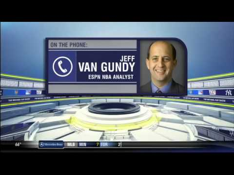 Jeff Van Gundy breaks down the NBA Finals - The Michael Kay Show