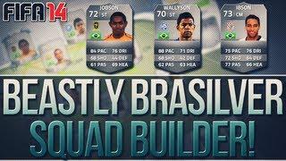 Jobson & Wallyson! 200k Amazing Brasilver Squad Builder