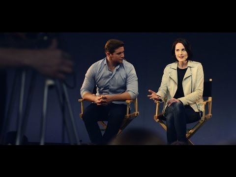 Michelle Dockery & Allen Leech: Downton Abbey Interview