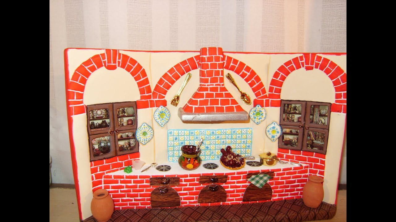 Diy c mo pintar una cocina de cer mica con adornos tipo - Como decorar cocinas ...