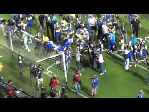 BOCA CAMPEON AP11 / Los festejos (HD)