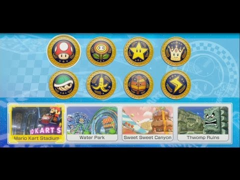 Mario Kart 8 Stamina Run! All 32 Courses in Order!